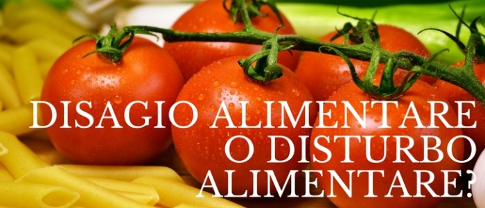 Differenza fra disagio e disturbo alimentare