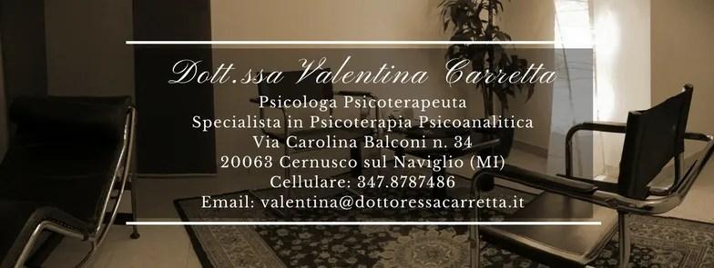 Riferimenti Studio dott.ssa Valentina Carretta in Cernusco sul Naviglio