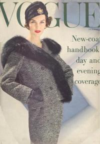 The Vintage Vogue Cover  Dotty Theresa