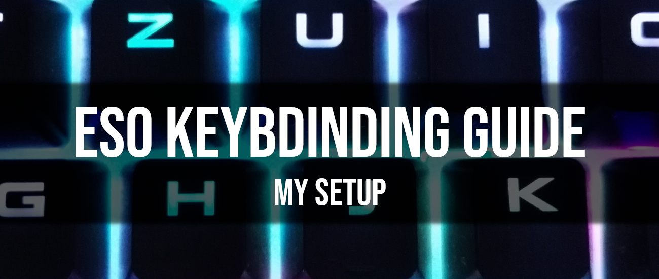 ESO Keybinds and My Setup - Dottz Gaming