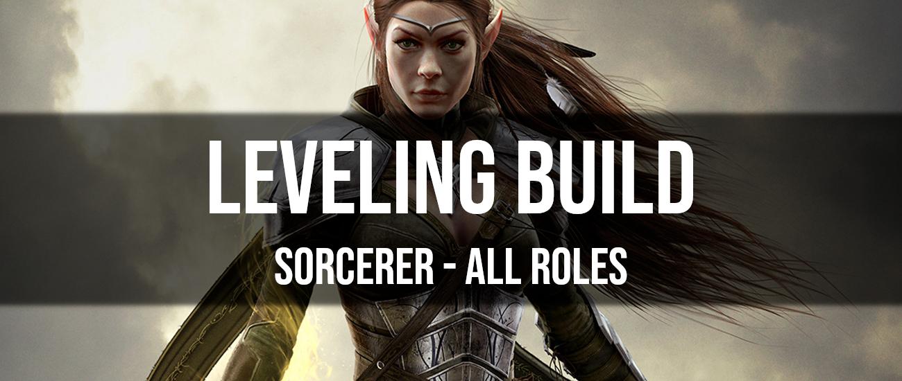 ESO Sorcerer Leveling Build - Dottz Gaming