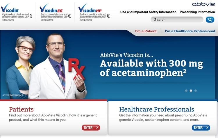 Vicodin Website