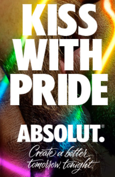 Absolut Kiss With Pride