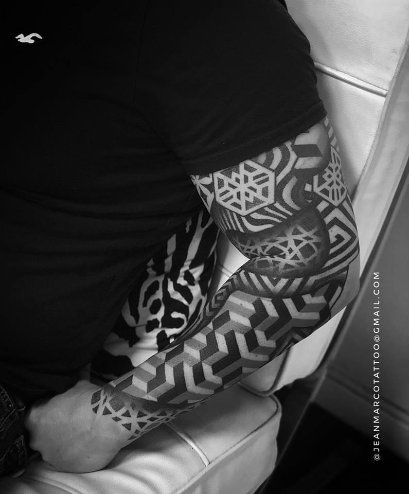 Dotwork Tattoos Por Jeanmarco Dotworkes