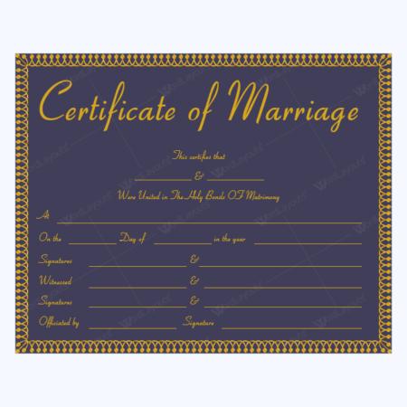 Marriage Certificate 19 MUL 1 450×450