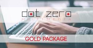 gold package dot zero multimedia