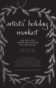 artists market alpine arts center