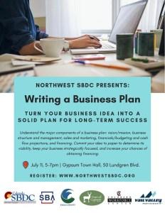 business plan workshop gypsum co