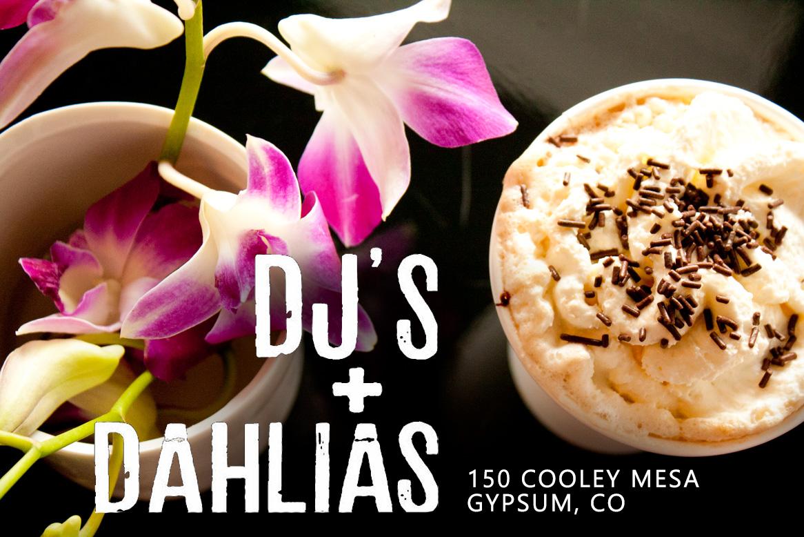 DJs and Dahlias Graphic