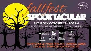 town of gypsum fall fest spooktacular