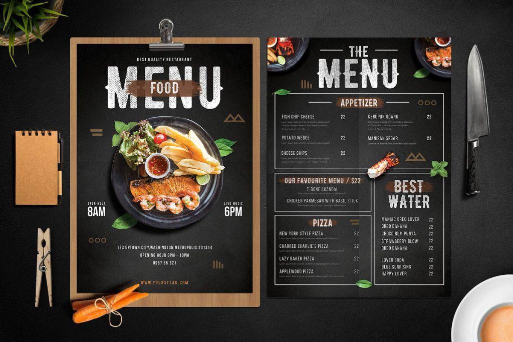 restaurant menu 003