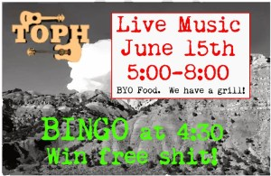 music and bingo night