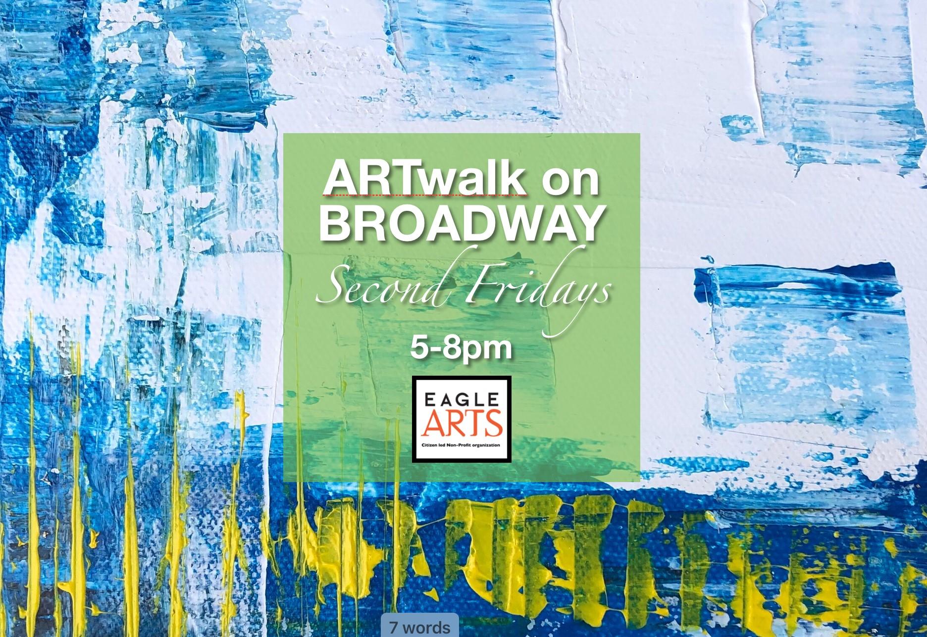 art walk on broadway