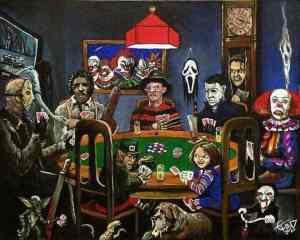 spooky card game