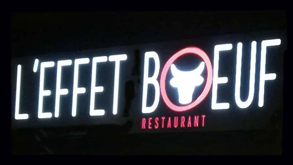 L'effet boeuf restaurant à Douarnenez