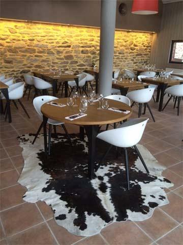 L'Effet Boeuf restaurant Douarnenez - Une salle conviviale et chaleureuse