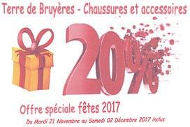 Promotion noel 2017 chez Terre de bruyères Douarnenez