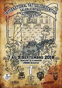1ere Convention Internationale de Tatouage de Quimper et salon viintage