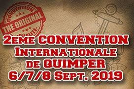 Convention internationale de tatouage Quimper Septembre 2019