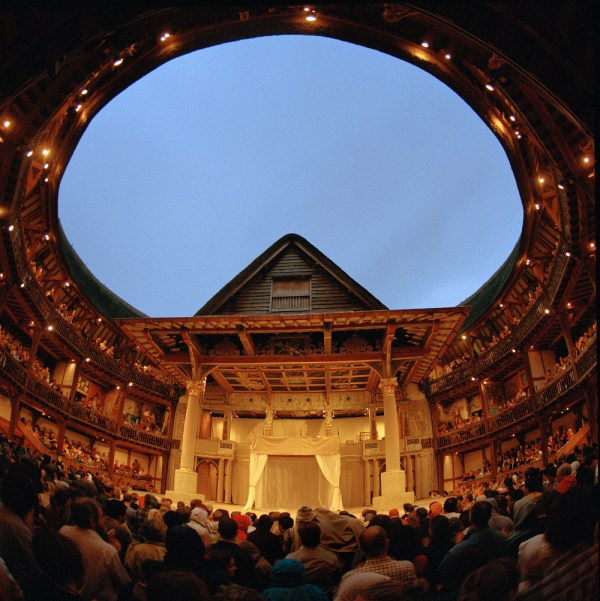 Visiting Shakespeare' Globe Theatre London - Double