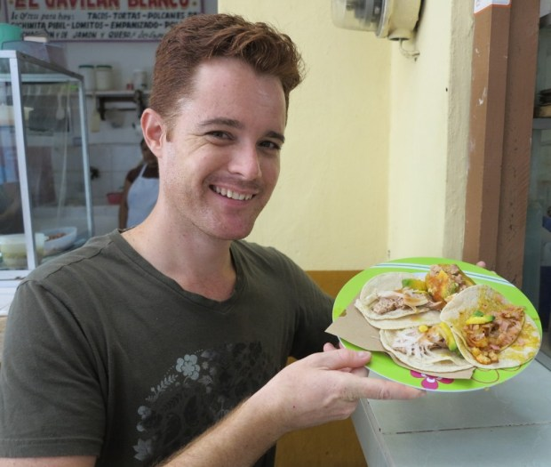 Mexican market food Double-Barrelled Travel