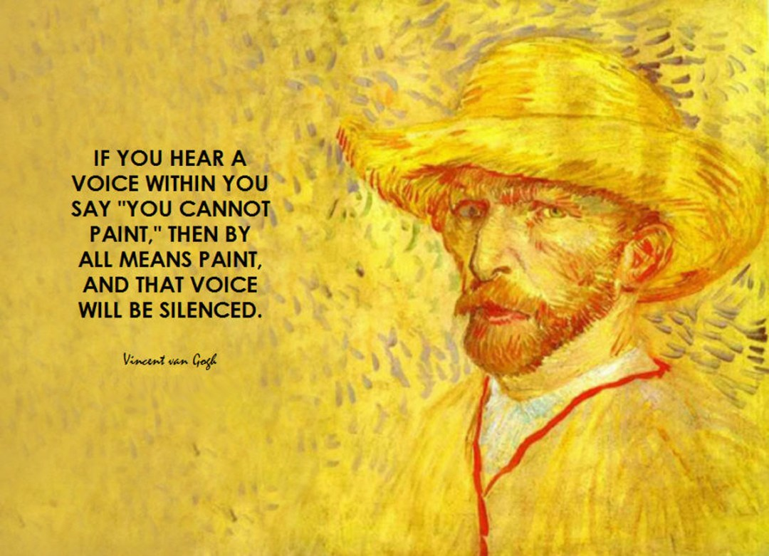 Vincent Van Gogh quote via BK Flickr Double-Barrelled Travel