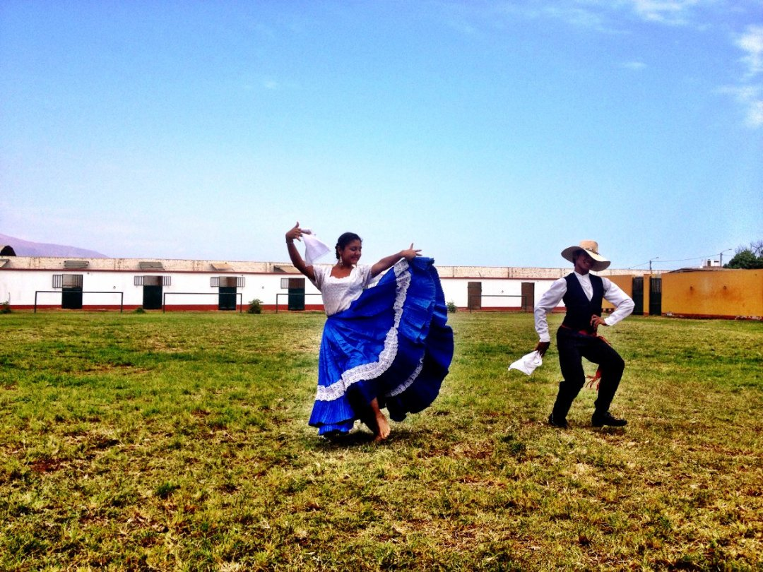 Dancing Peru Double-Barrelled Travel