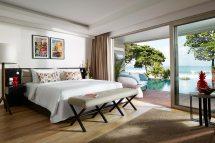 2 Bedroom Deluxe Suite Ocean View Double Six Luxury Hotel