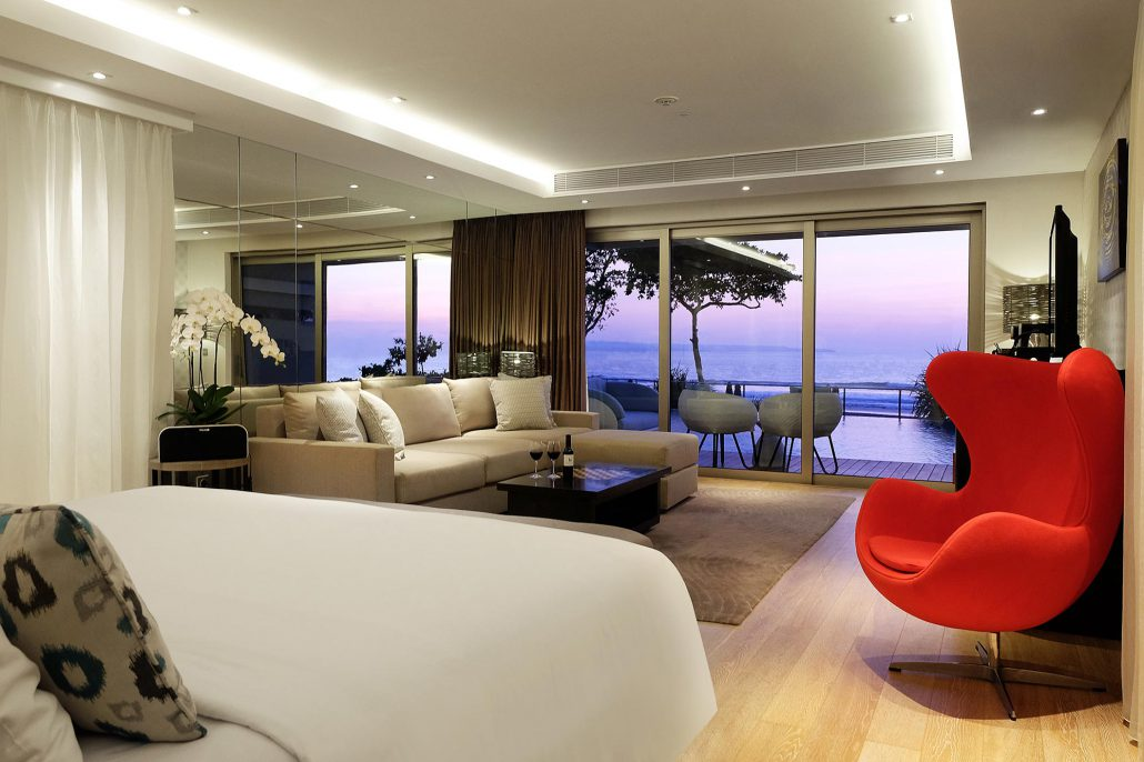 Premium Suite Pool Access Ocean View  Double Six Luxury Hotel