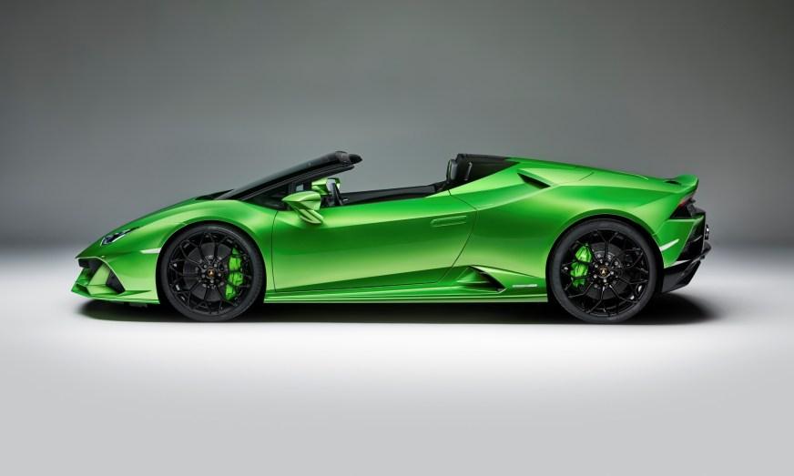 Lamborghini Huracan Evo Spyder debuts head of Geneva Motor ...