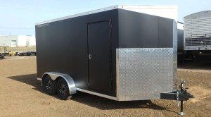 7′ Wide Enclosed Trailer | Double A Trailers