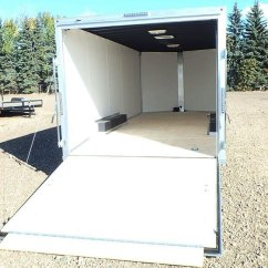 Wiring Ceiling Lights Diagram 96 Honda Civic 8.5′ Wide Enclosed Trailer | Double A Trailers
