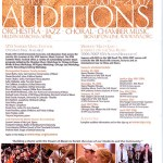 MYA auditions are approaching