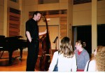 Playing Bach cello suites
