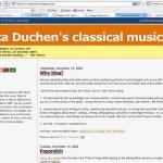 Jessica Duchen's classical music blog