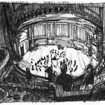 Great sketch of Carnegie Hall from Rami Efal