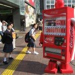 My good friend Mike Colwill on Japanese vending machines