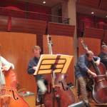 Chicago Symphony bass section tour photos