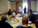 Just wrapped this month's ISB board meeting