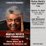 Rufus Reid at Jazz Showcase in Chicago 4/8-11