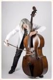 Double bassist Claus Freudenstein