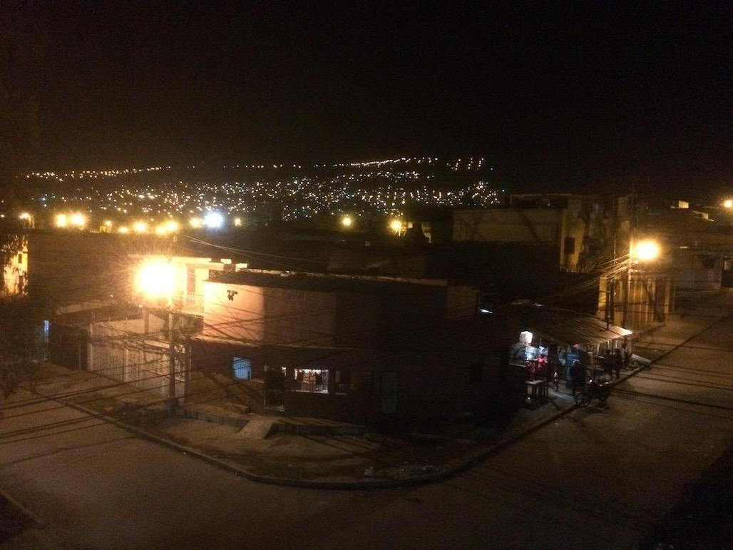 Tegucigalpa night