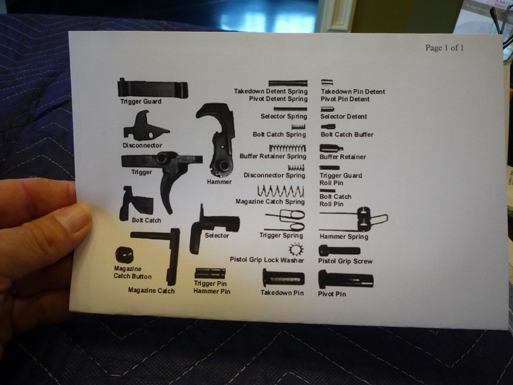 Ar 15 Parts List Diagrams Besides Ar 15 Upper Receiver Diagram