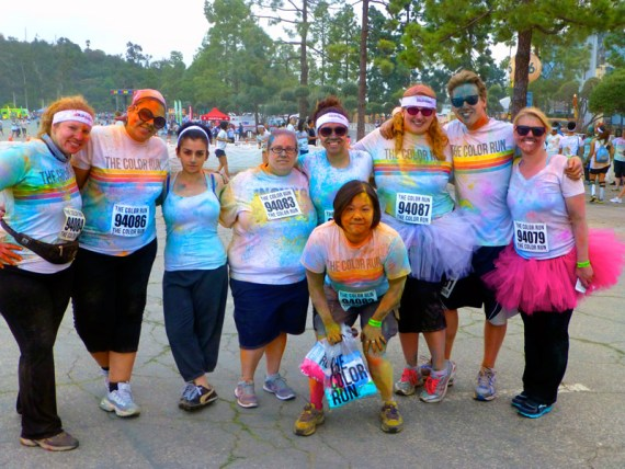 Color Run Team ChromatiKids After the Run!