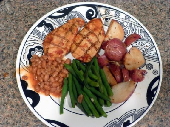 Diet to Go BBQ Chicken Meal - SUPER yummy!