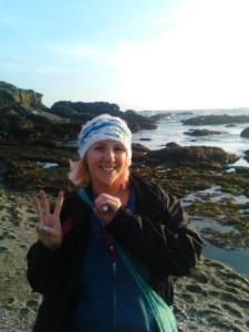 The big 30 at Glass Beach in Ft. Bragg, California