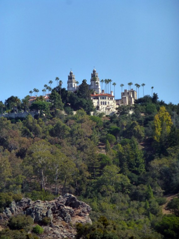 Hearst Castle in the San Simeon Hills