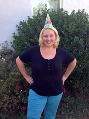 Birthday pants - CHECK!