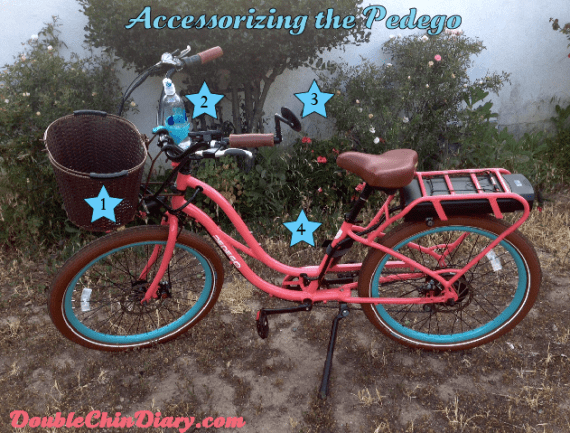 accessorizing electric bike pedego interceptor review double chin diary