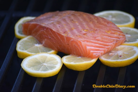 Use lemon slices directly on the grill to cook your fish!
